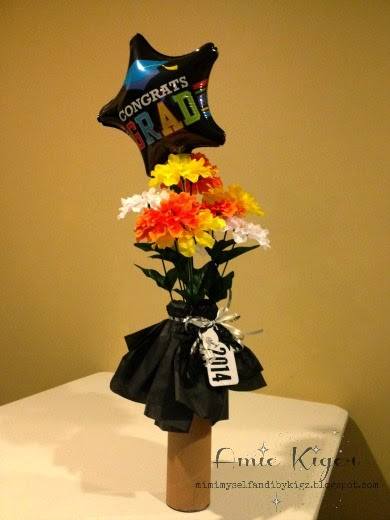 Mimi myself and i easy graduation centerpiece for tag