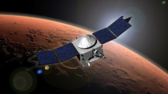 Wahana Antariksa MAVEN Milik NASA Berhasil Sampai di Mars