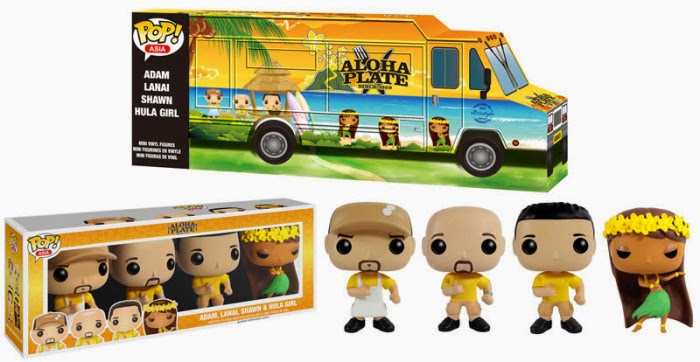 Funko Pop! ASIA Aloha Plate Yellow Shirts
