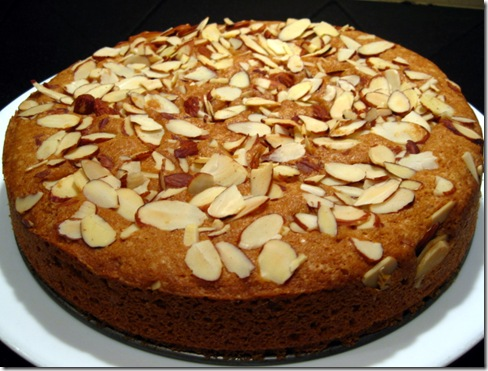 Almond cake by Chef Shireen anwer - Creative Recipes