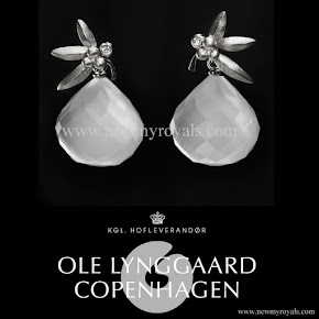 Crown Princess Mary Style Ole Lynggaard Frost Earrings