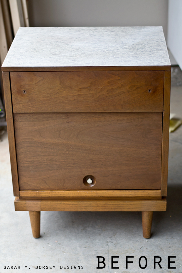 stone top nightstand 2