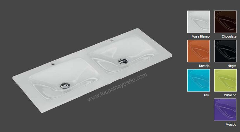 mueble de bao lavabos cristal morado