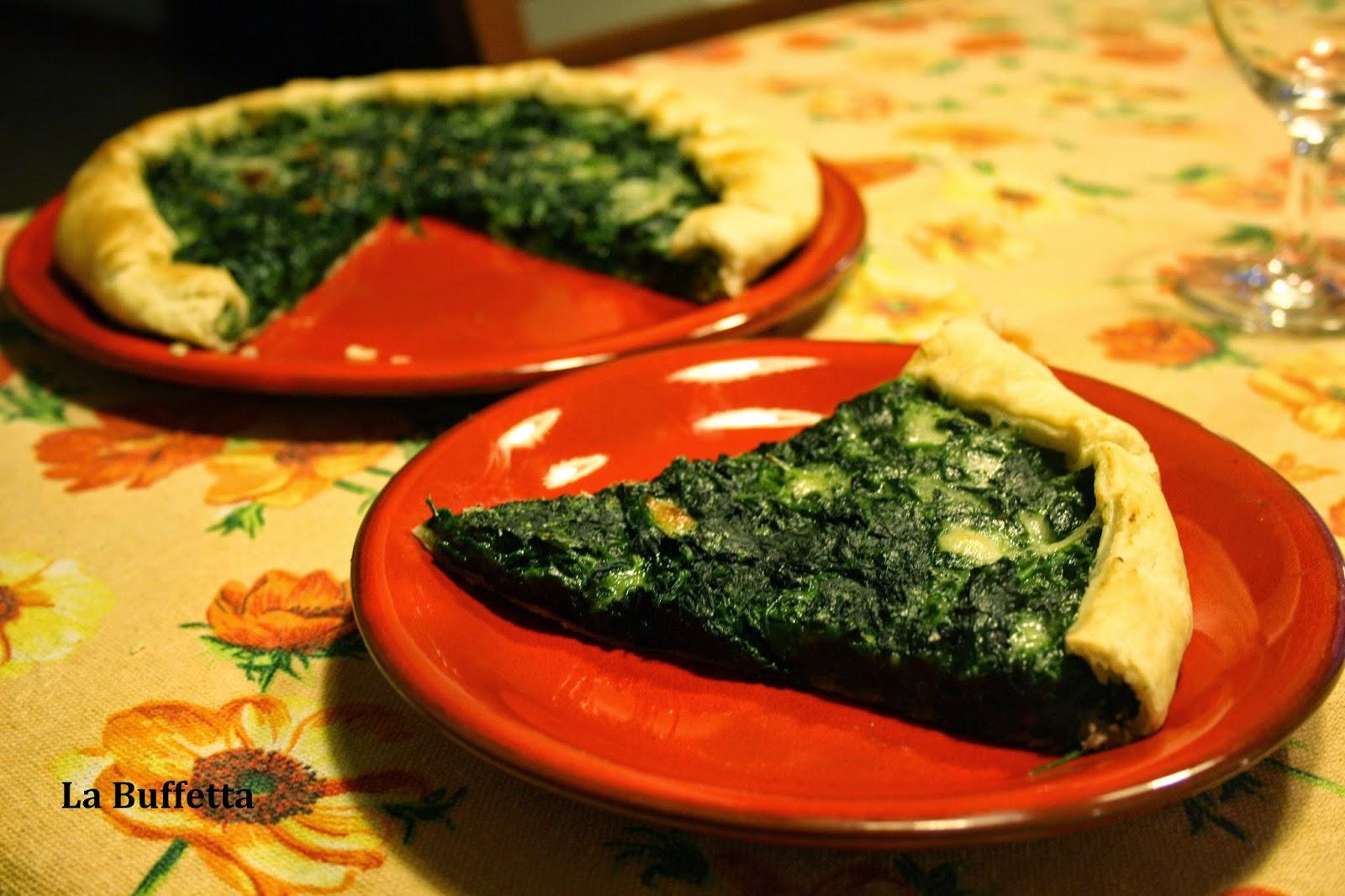 sfoglia spinaci  e besciamella