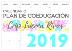 Calendario Plan Igualdad