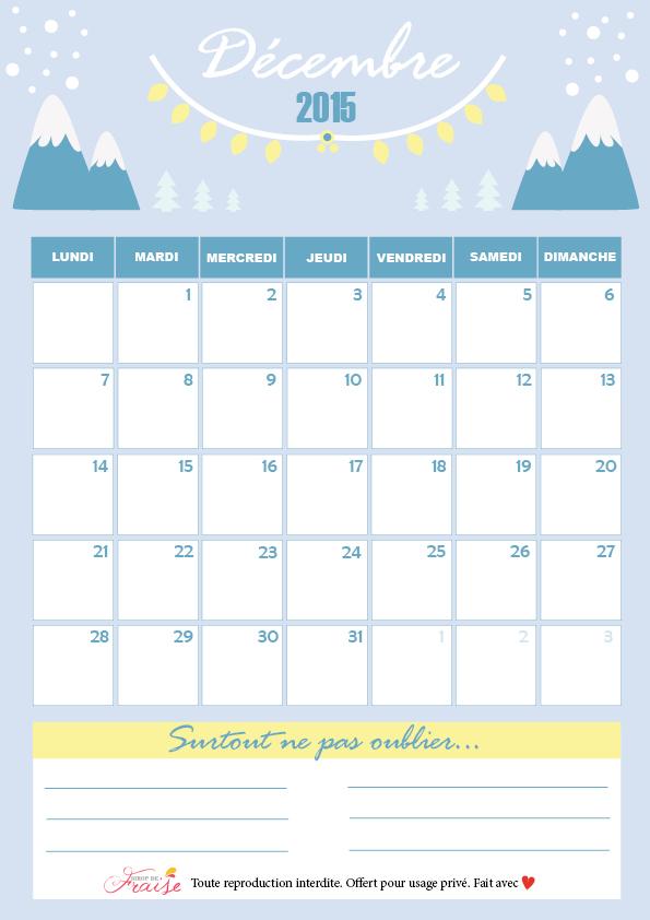 Calendrier DIY de décembre 2015