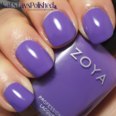 Zoya Island Fun - Serenity | Kat Stays Polished