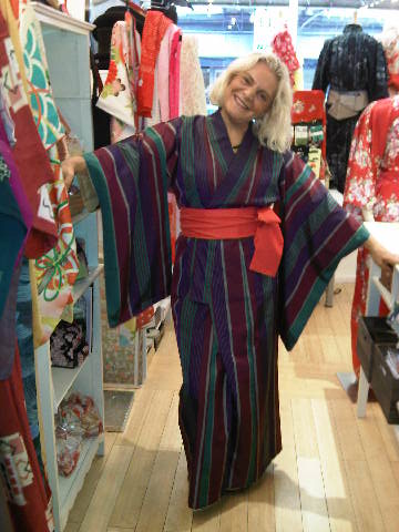 Full length Kimono from Kimono House in New York City