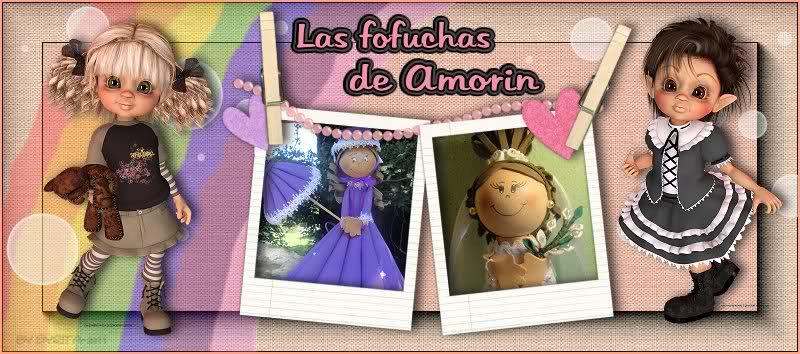 FOFUCHAS Y MUÑECAS SOFT AMORIN