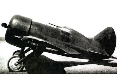 Опытный образец самолета ЦКБ 12