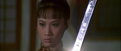 Angela Mao with the Rod of Death