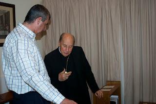 Bishop Javier Echevarría, Prelate of Opus Dei, Mark Cogitates