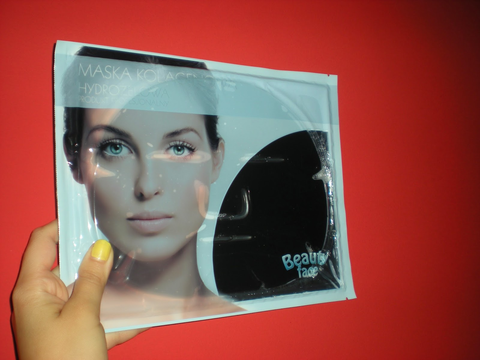 """Antybakteryjna maska kolagenowa oczyszczająca i zmniejszająca blizny czyli akcja """"Stop suchej skórze twarzy"""" zakończona!"""