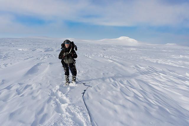 Islandia, gdzieś pośrodku Öræfajökull.