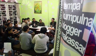 Anging Mammiri, Tempat Kumpulnya Blogger Makassar