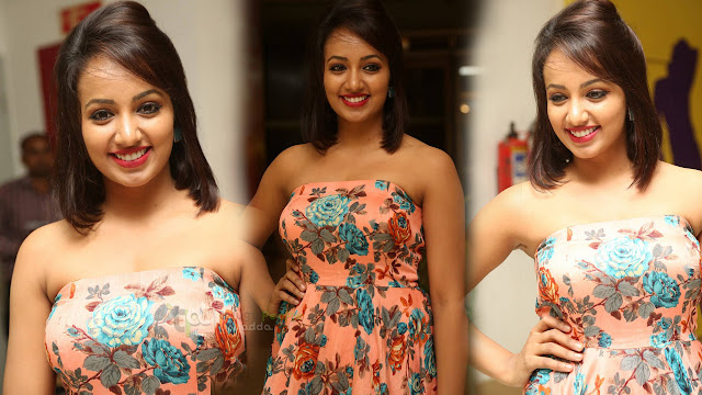 Tejaswi Latest Photos At AMF Donation Presentation Event