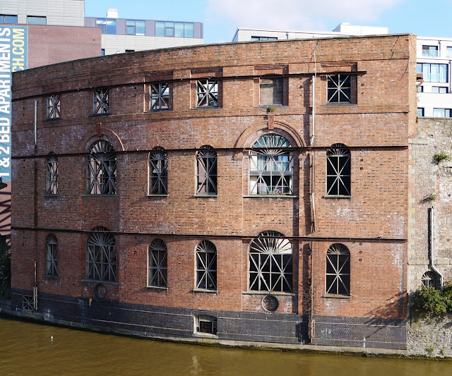 Old brewery building in Bristol