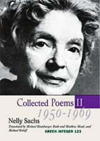 Nelly Sachs, Collected Poems II, Green Integer, 2013
