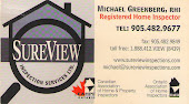 Mississauga Inspector Michael Greenberg Sureview Home Inspection Service Mississauga in Mississauga