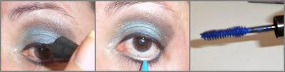 mascara cilios azul blue yes cosmetics