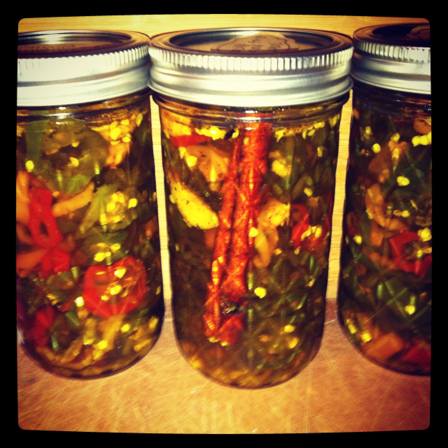 Haute + Heirloom: Homemade Candied Jalapenos