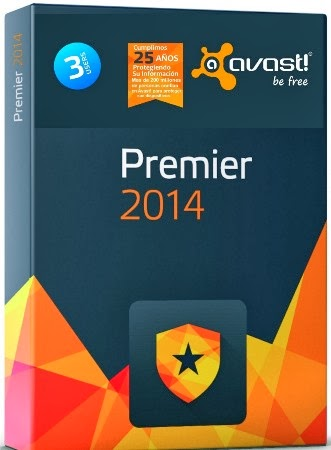Download avast! Premier 2014 + Crack