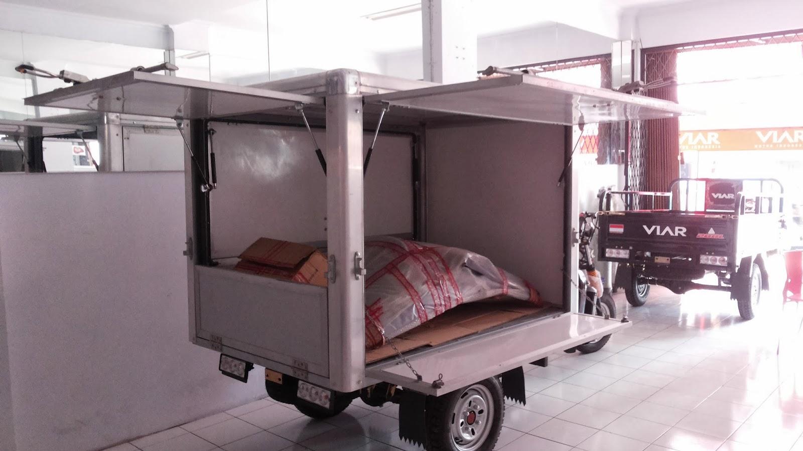 Motor Niaga Roda Tiga Kaisar Triseda Rx 250 Cc Long Box Asumsi Perhitungan Bisnis Contoh Dagangan Nasi Uduk Jumlah 100 Bungkus Hari Harga Jual Rp 4000 Profit 1000 100000