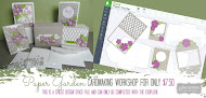 Paper Garden Cardmaking Workshop for EXPLORE only September SOTM