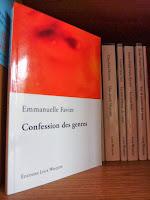 Confession des genres - Emmanuelle Favier