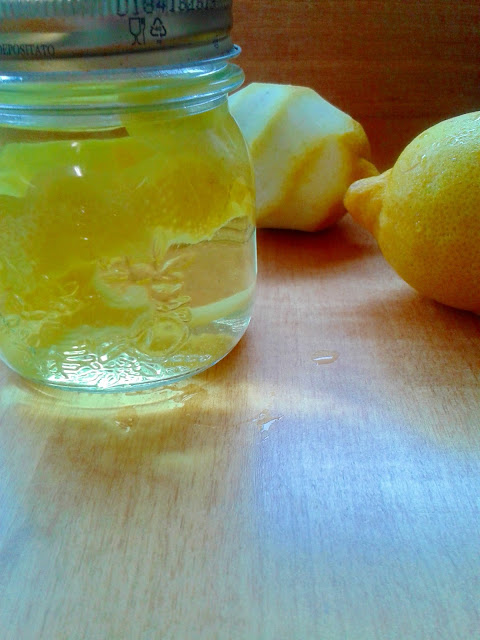 fresh citrus homemade body mist