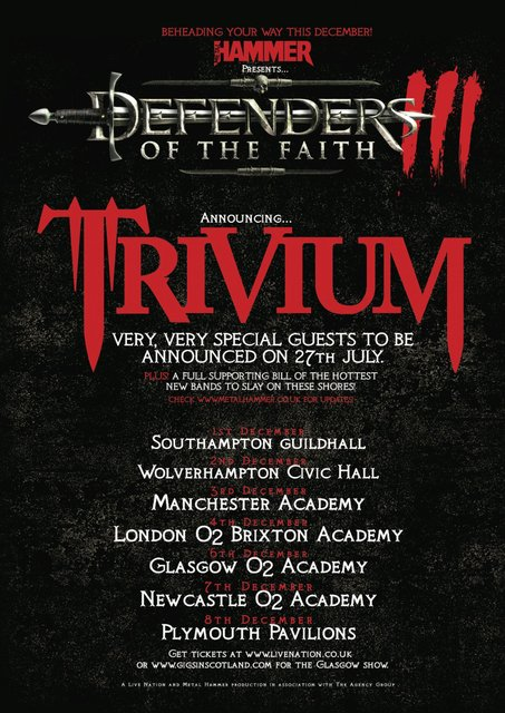 Metal Hammer Defenders Of The Faith Tour