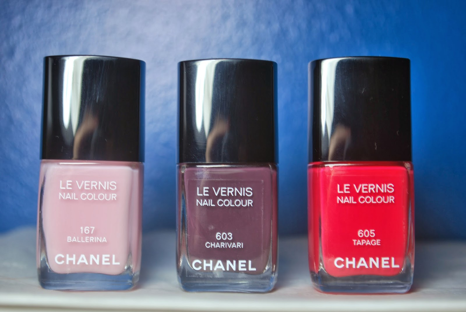 WellNailed x.: Swatches - Chanel Collection Notes de Primtemps ...