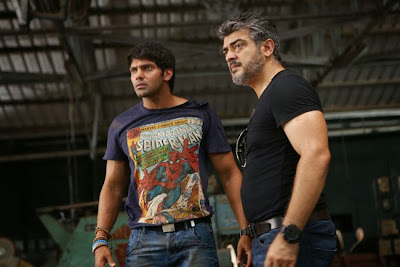 Arya and Thala Ajith
