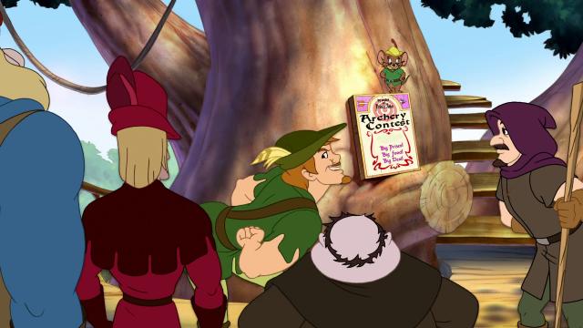 Hình ảnh phim Tom Và Jerry: Robin Hood Và Chú Chuột Vui Vẻ