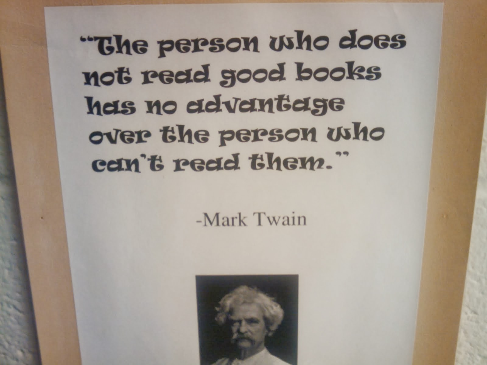 Food for Thought from Mark Twain
