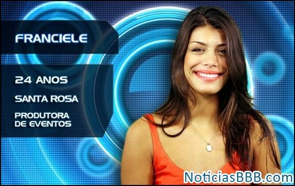 Franciele Cicarelle - Humor BBB14