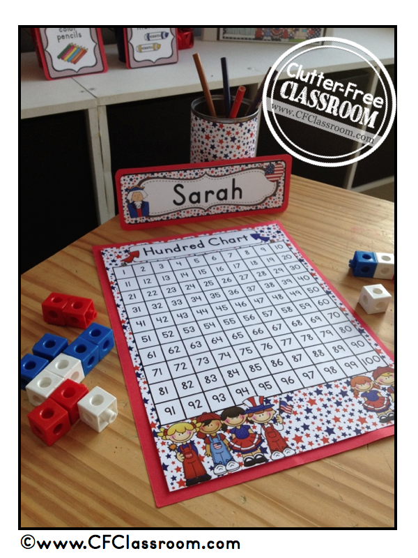 PATRIOTIC THEME CLASSROOM {Photos, Pictures, Ideas, Printables, & More ...