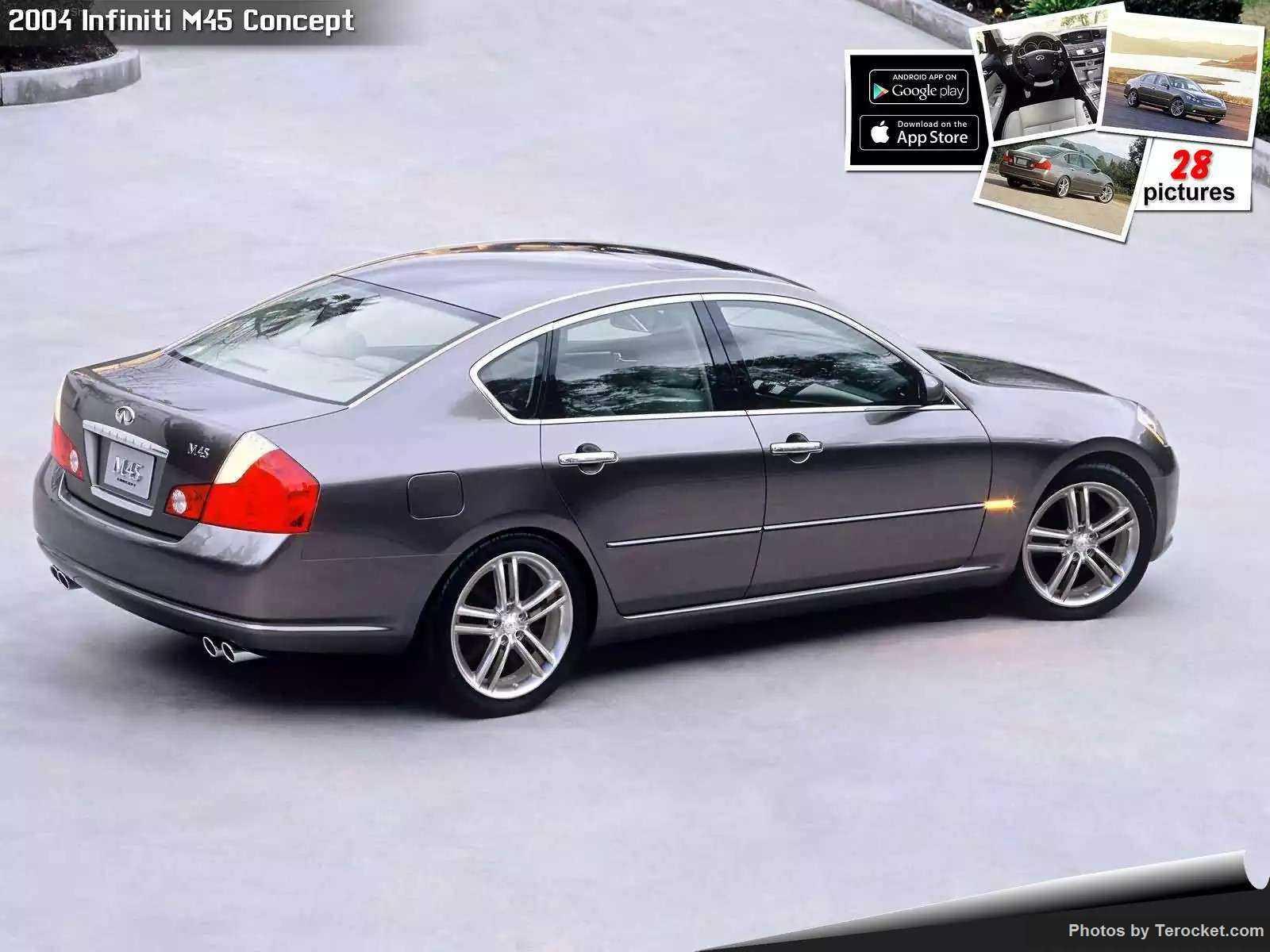 Hình ảnh xe ô tô Infiniti M45 Concept 2004 & nội ngoại thất