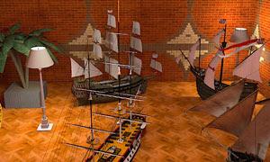 Ship Model Mystery