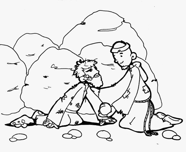Dibujos Católicos : San Judas Tadeo para colorear