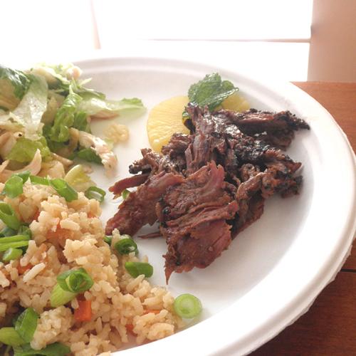 Food Pusher: Kalbi Korean Beef BBQ