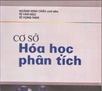 Cơ sở hóa học phân tích - Hoàng Minh Châu