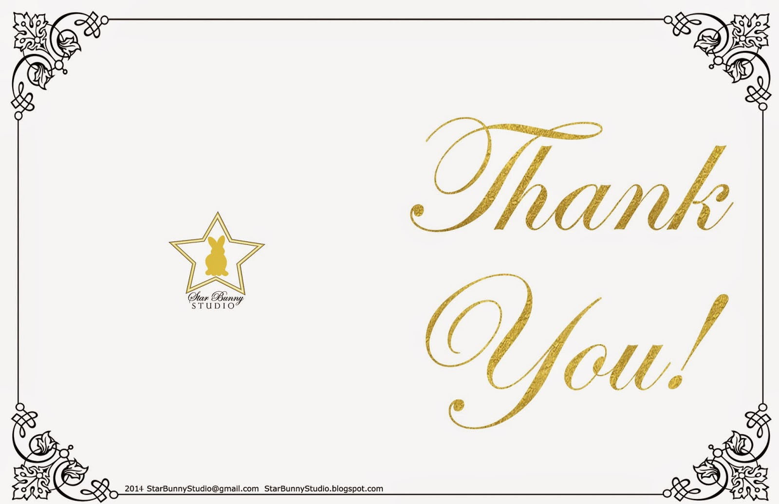 Star Bunny Studio 2014 Thank YOU!