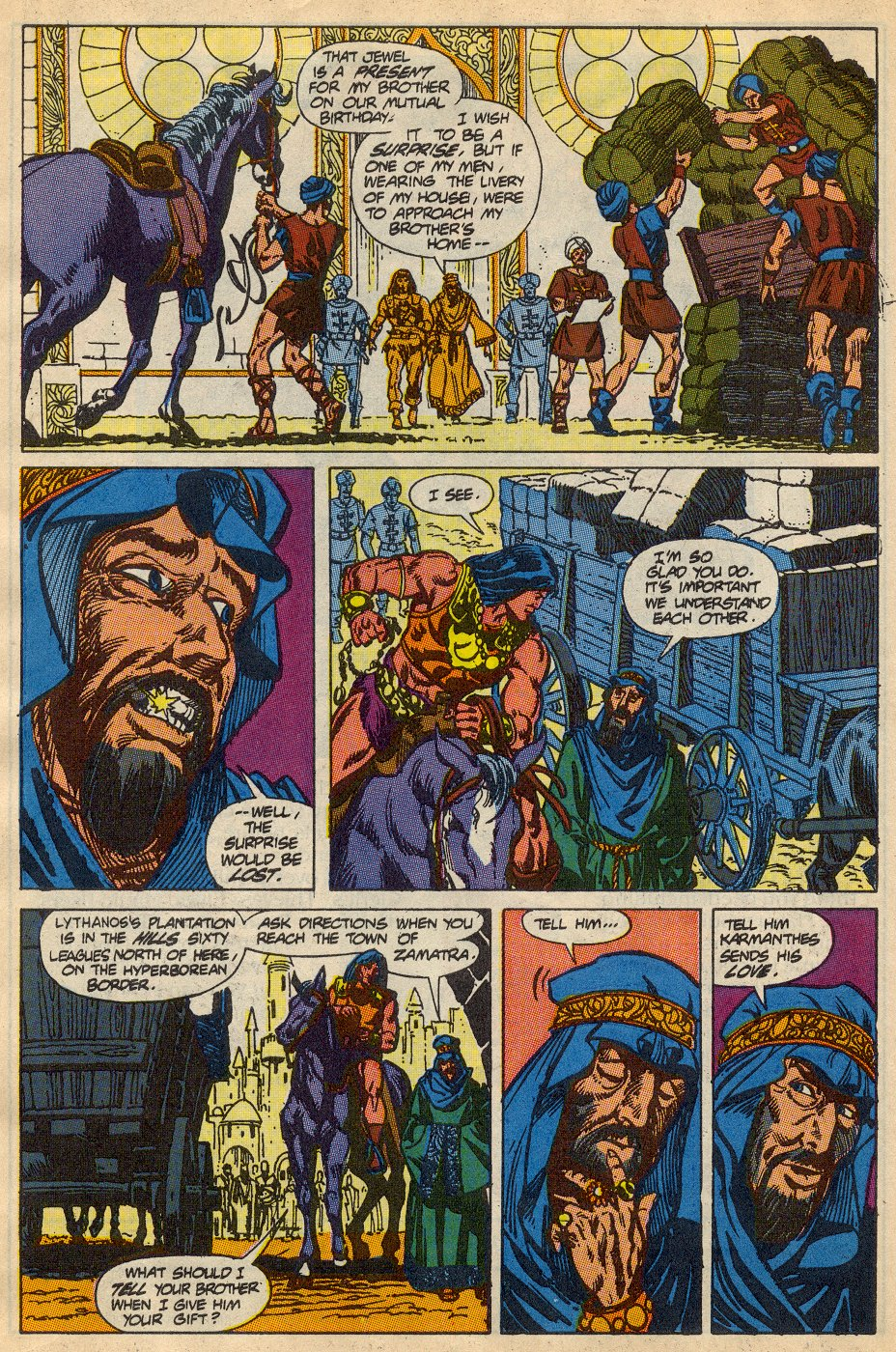 Conan the Barbarian (1970) Issue #230 #242 - English 6