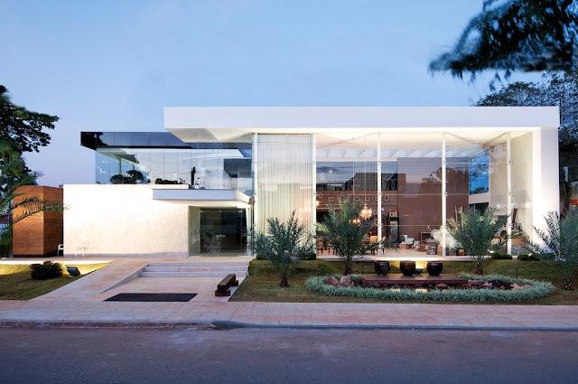 Construindo minha casa clean fachadas com ou sem telhado for Fachada de casas modernas