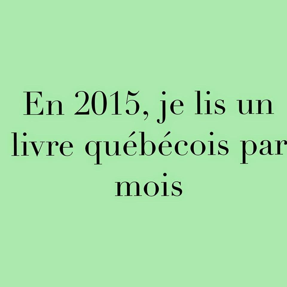 Un livre québécois par mois