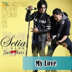 kunci gitar my love setia band