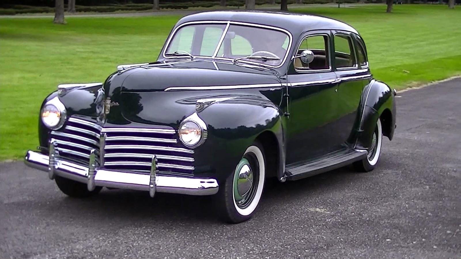 1941 chrysler royal 4 door sedan