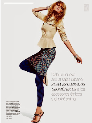 Cristina Tosio Telva Spain Magazine Photoshoot February 2014 HQ Pics