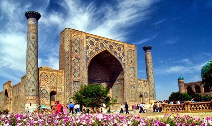 Сердце Самарканда - площадь Регистан